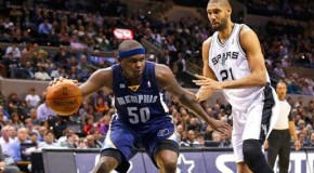 Play-off NBA: Grizzlies @ Spurs (West Final G1)